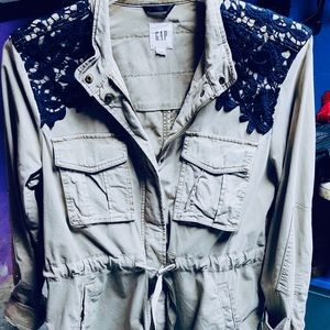 brand new womans utily demin jacket